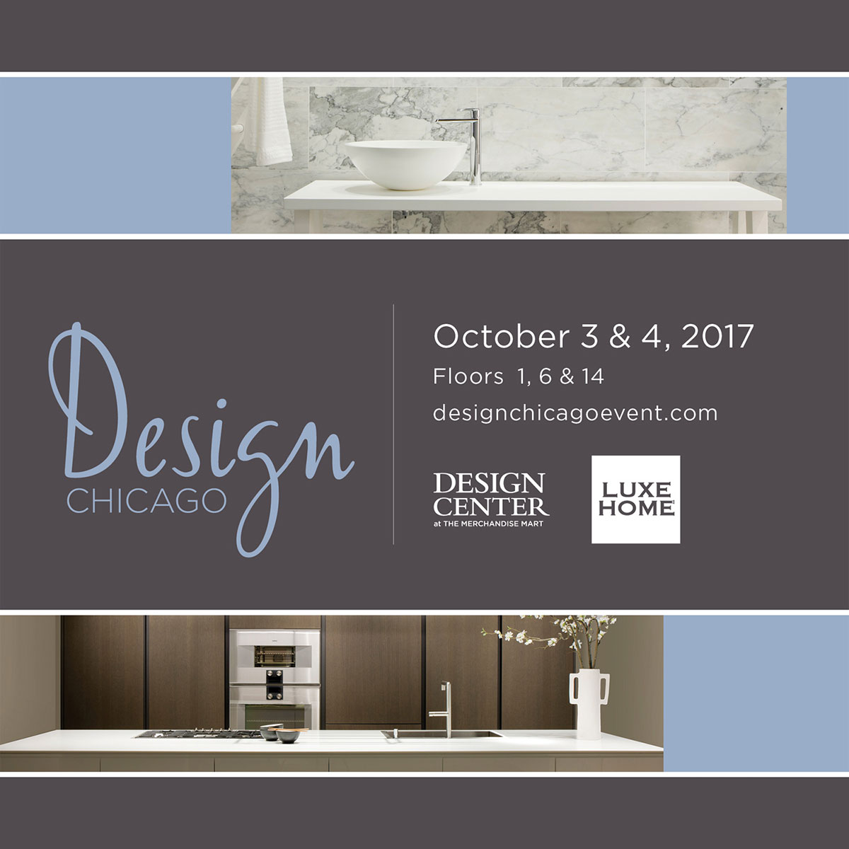 Design Chicago – October 3 & 4, 2017 – theMART, Chicago